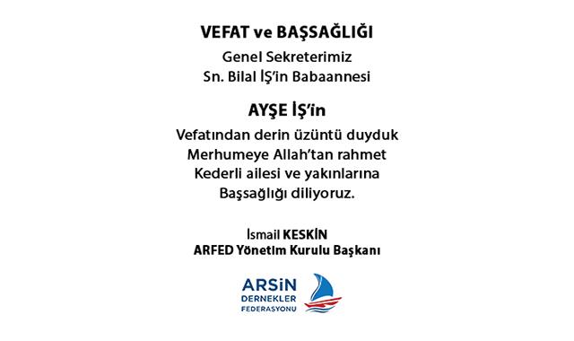 VEFATYENİ-ARFED