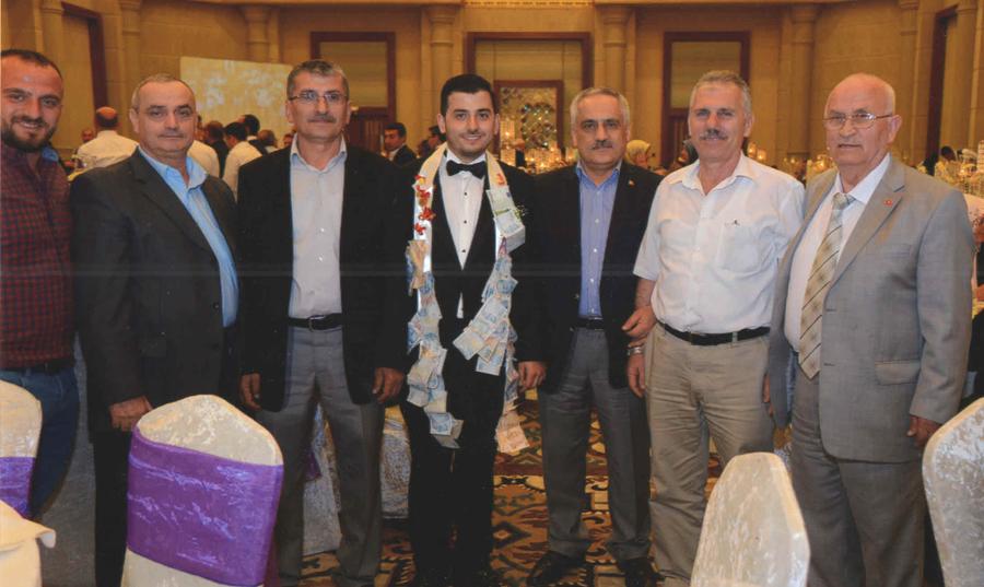 Yönetim Kurulu Üyemiz Şükrü Kaya'nın oğlu Rasim Kaya'nın düğününe katıldık